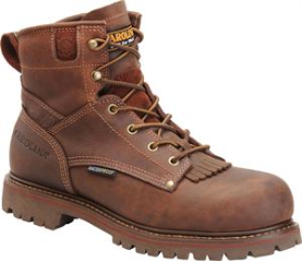 "Carolina Men's 6"" Waterproof Work Boots-Cigar Brown CA7028"