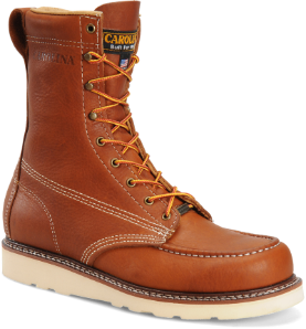 "Carolina Men's 8"" Domestic Moc Toe ST Wedge Work Boot CA7502"