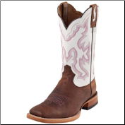 Ariat Men's Nitro Western Boots: Weathered Brown/ Blanco 10006833 (SKU: 10006833)