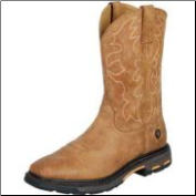 Ariat Men's Workhog Wide Square Toe Steel Toe-Rugged Bark 10006959