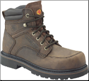 Carolina Men's 6 Inch Broad Toe - Dark Brown 1399