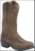 Double H Men's Work Western-12 Inch Work Western-Tan 1600 (SKU: 1600)