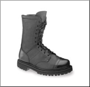 "Rocky 10"" Men's Zipper Jump Boots - Black 2090 (SKU: 2090)"