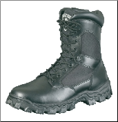 Rocky Men's 8 inch Zipper AlphaForce Duty Boots 2173 (SKU: 2173)