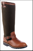 "Chippewa Men's 17"" Snake Boot Expresso Vipercloth 23913 (SKU: 23913)"