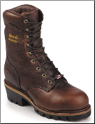 "Chippewa Men's 9"" Briar Oiled Waterproof Steel Toe Logger Boot 25420 (SKU: 25420)"
