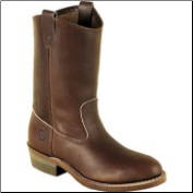 Double H Men's 10 Inch ST Ranch Wellington-Dark Oil Tan 2655