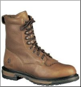 "Rocky Men's 8"" Rider Lacer Work Boots - Crazy Horse 2723"