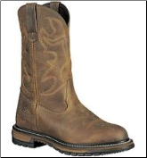 "Rocky Men's 11"" Branson Waterproof Roper Boot - Aztec Crazy Horse 2733"