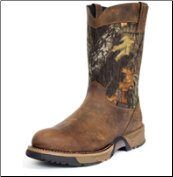 Rocky Men's Aztec Waterproof Camo Pull-on Boots 2871