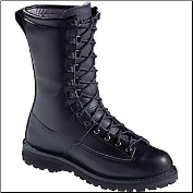 "Danner Men's/Women's Fort Lewis 10"" Uniform Boot- Black 29110 (SKU: 29110)"