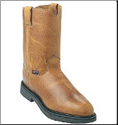 "Justin Men's 10"" Pull-On Boots - Copper Caprice 4762 (SKU: 4762)"