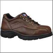 Thorogood Women's Double Track Oxford - Safety Toe - Brown 504-4406 (SKU: 504-4406)