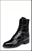 Justin Men's Classic Ropers: Black Kiddie 506