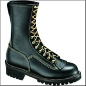 "Thorogood Women's 10"" Wildland Fire Boot With removable Kiltie Style: 534-6371 (SKU: 534-6371)"