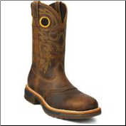 Rocky Men's Original Ride Steel Toe Western Work Boot 6029 (SKU: 6029)
