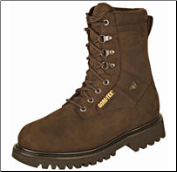"Rocky Men's 8"" Ranger Work Boot - Oil Brown Nubuc 6223"