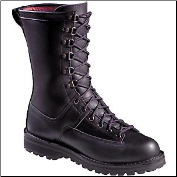 "Danner Men's/Women's 10"" Fort Lewis 200g Uniform Boot- Black 69110 (SKU: 69110)"
