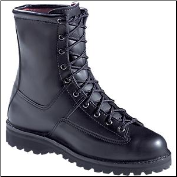 "Danner Men's/Women's Recon 200g 8""Uniform Boot- Black 69410 (SKU: 69410)"