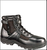 Thorogood 6'' Waterproof Side Zip Composite Safety Toe Boots - Black 804-6190