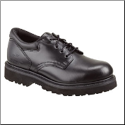 Thorogood Men's Uniform Classics Leather Academy Oxford Safety Toe- Black 804-6449