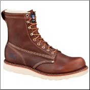 "Thorogood 8"" Plain Toe Safety Toe - Brown 804-4364"