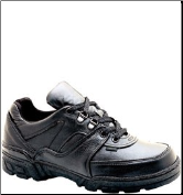 Thorogood Men's Code 3 Enforcer Oxford Shoes - Black Leather 834-6574