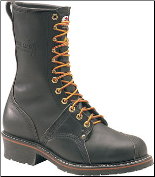 Carolina Men's Domestic 10'' Steel Toe Linesman Boots Black 1905