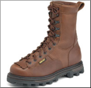 "Rocky Men's 9"" Lace-toToe BearClaw - Brown 9237"