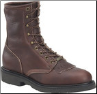 Double H Men's Work Western-8 Inch Work Lacer 9714