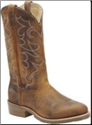 Double H Men's-12 Inch Gel ICE Work Western- Brown DH1552