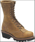 Double H Men's Work Western-9 Inch Logger DH9760