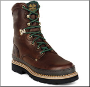 "Georgia Men's 8"" Giant Boot - Brown Soggy G8274 (SKU: G8274)"