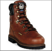 "Georgia Men's 8"" Internal Metatarsal Briar Brown Heritage G8315"