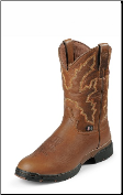 Justin Men's George Strait :03.1 Series - 11'' Sunset Rage Waterproof Boots 9018 (SKU: 9018)