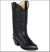 Durango Women's Leather Western Boots - Black RD4100 (SKU: RD4100)