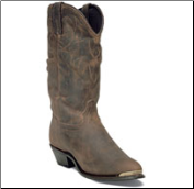 Durango Women's Distressed Leather Western-Brown RD542 (SKU: RD542)