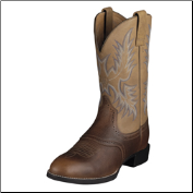 Ariat Men's Heritage Stockman Western Boot- Barrel Brown 10002252