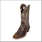 Ariat Men's Heritage Roughstock-Thunder Brown 10007850