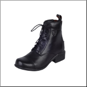 Ariat Women's Heritage RT Paddock Boot-Black 10000801