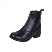 Ariat Women's Heritage RT Zip Paddock Boot-Black 10000803 (SKU: 10000803)