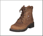Ariat Womens Probaby Lacer Boot Driftwood Brown 10001090