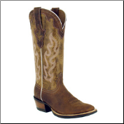 Ariat Crossfire Caliente Women's Western Boots - Weathered Brown 10004817