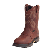 "Ariat Men's Workhog Pull-on Waterproof Composite Toe 10""-Dark Copper 10001203"