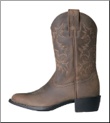 Ariat Kid's Heritage Western Boots - Distressed Brown 10001825