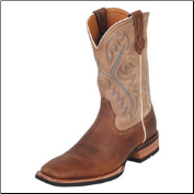 Ariat Quickdraw Men's Western Boot- Bark/Beige 10002224 (SKU: 10002224)