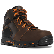 "Danner Men's Vicious GTX 4.5"" NMT Work Boots - Brown/Orange 13860"