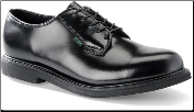 Corcoran Men's Oxford Black Leather Dress 1544