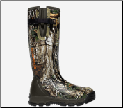 "Lacrosse Men's Alphaburly Pro Side-Zip 18"" 1000G Hunting Boots - Realtree X-Tra 376017"