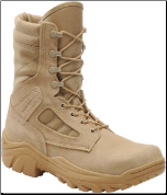 "Corcoran Men's 9"" Roughout Leather & Cordura Non-Insulated Desert Combat Boot-Desert Tan 4390 (SKU: 4390)"